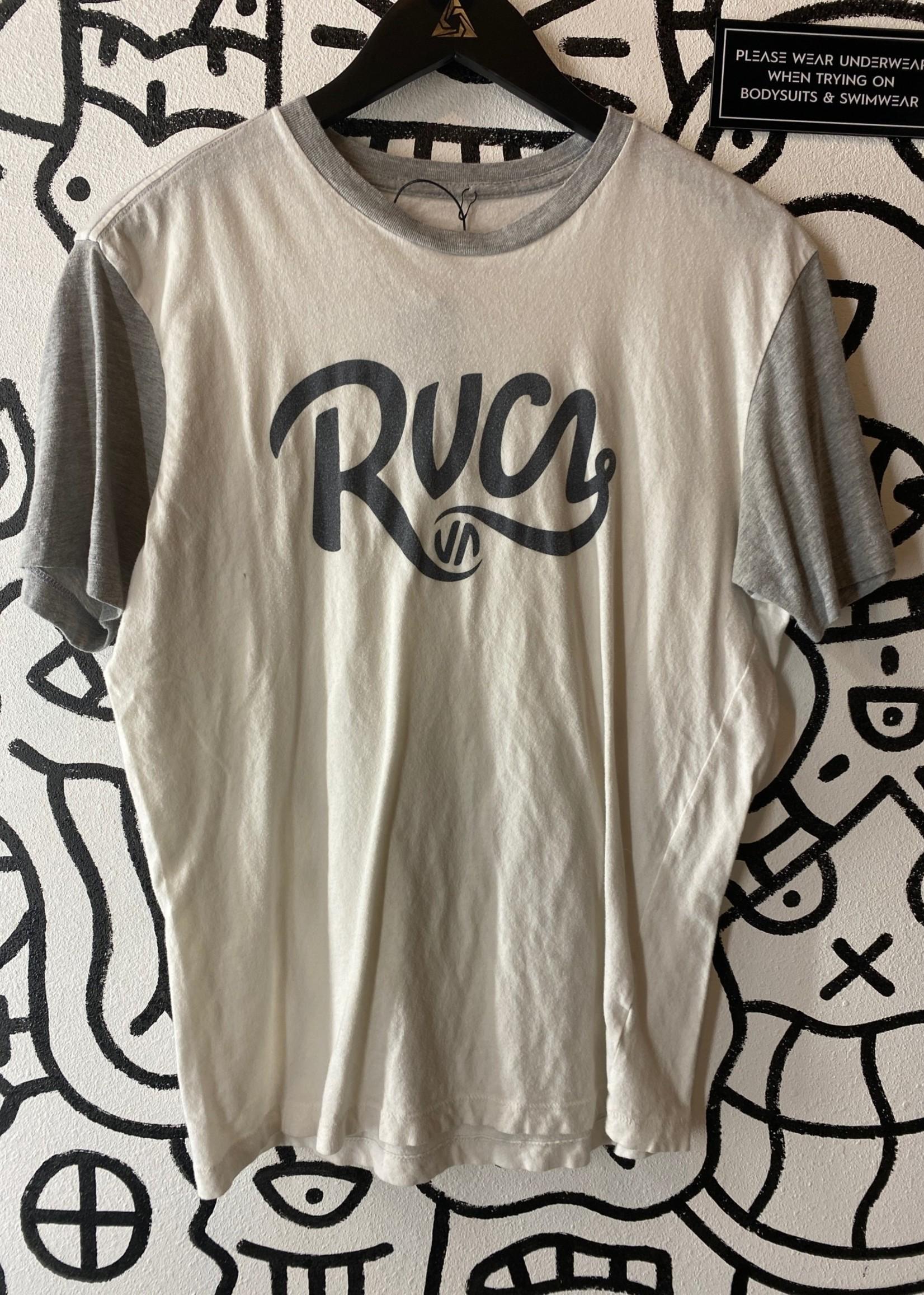RVCA Grey Logo Tank M