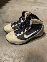 Nike Hyperize Navy/White/Silver Sneakers 8