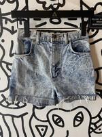 Vintage Acid Wash High Waisted Shorts 24
