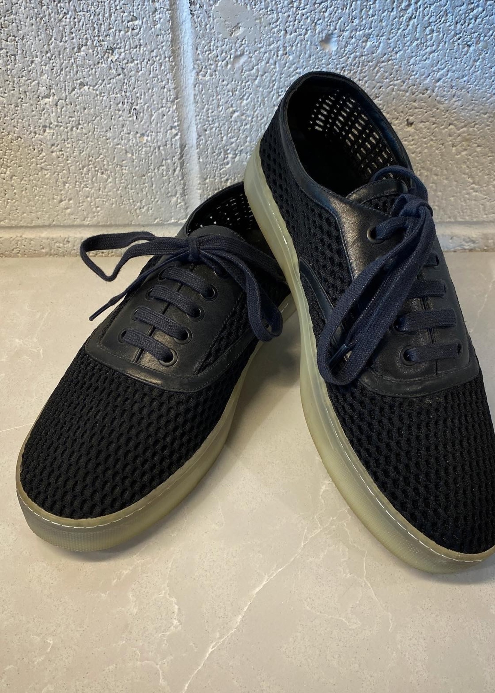 Alexander Wang Mesh Jess Low Black Sneakers 40