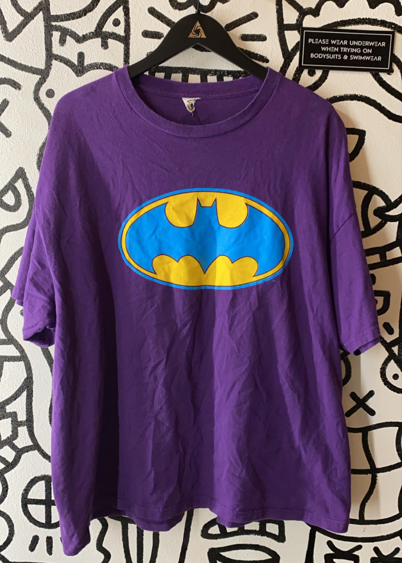 Vintage Purple Batman Tee XL