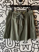 NWT Kate Spade Green Tie Skirt