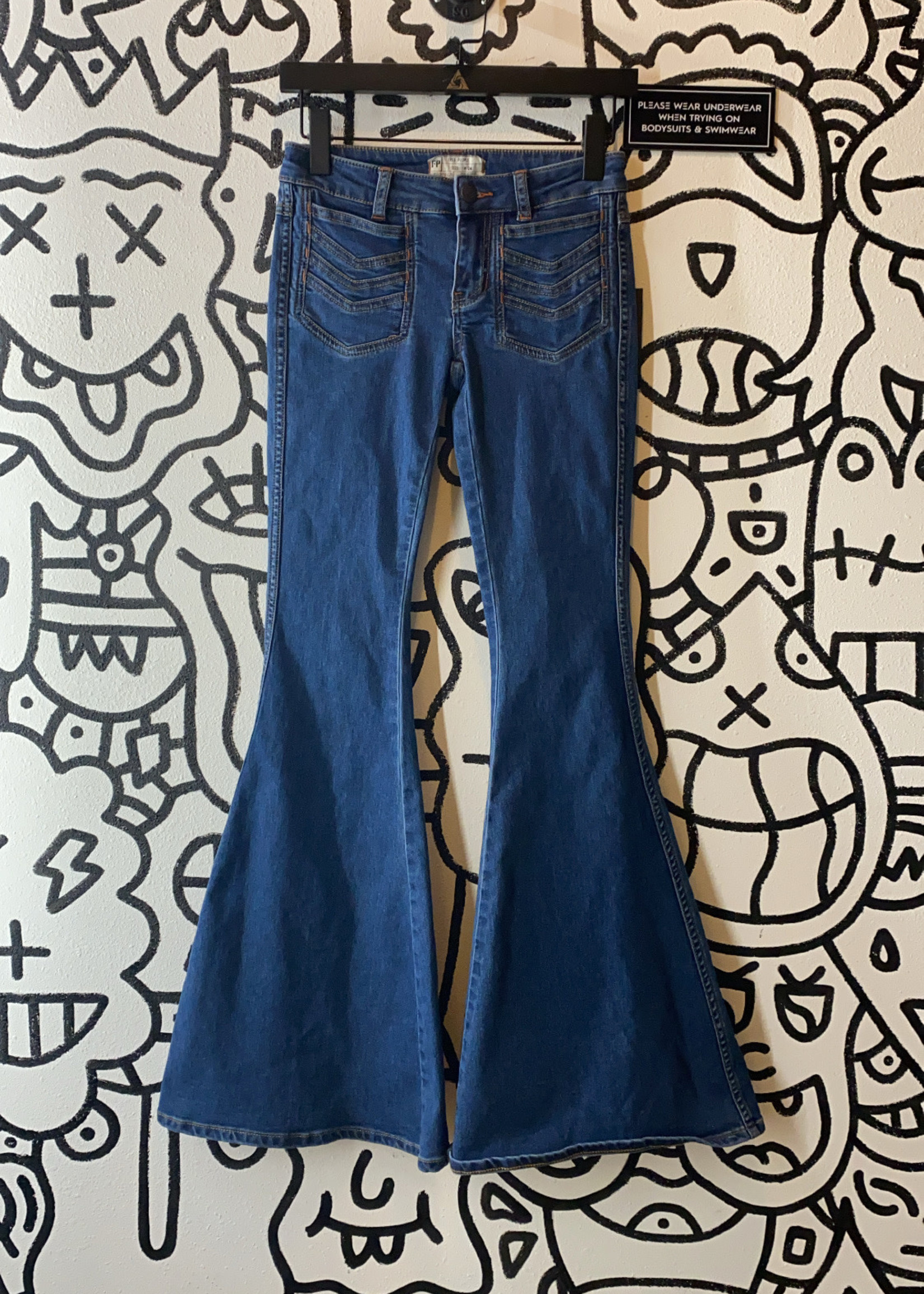 Free People Ultra Flare Jeans