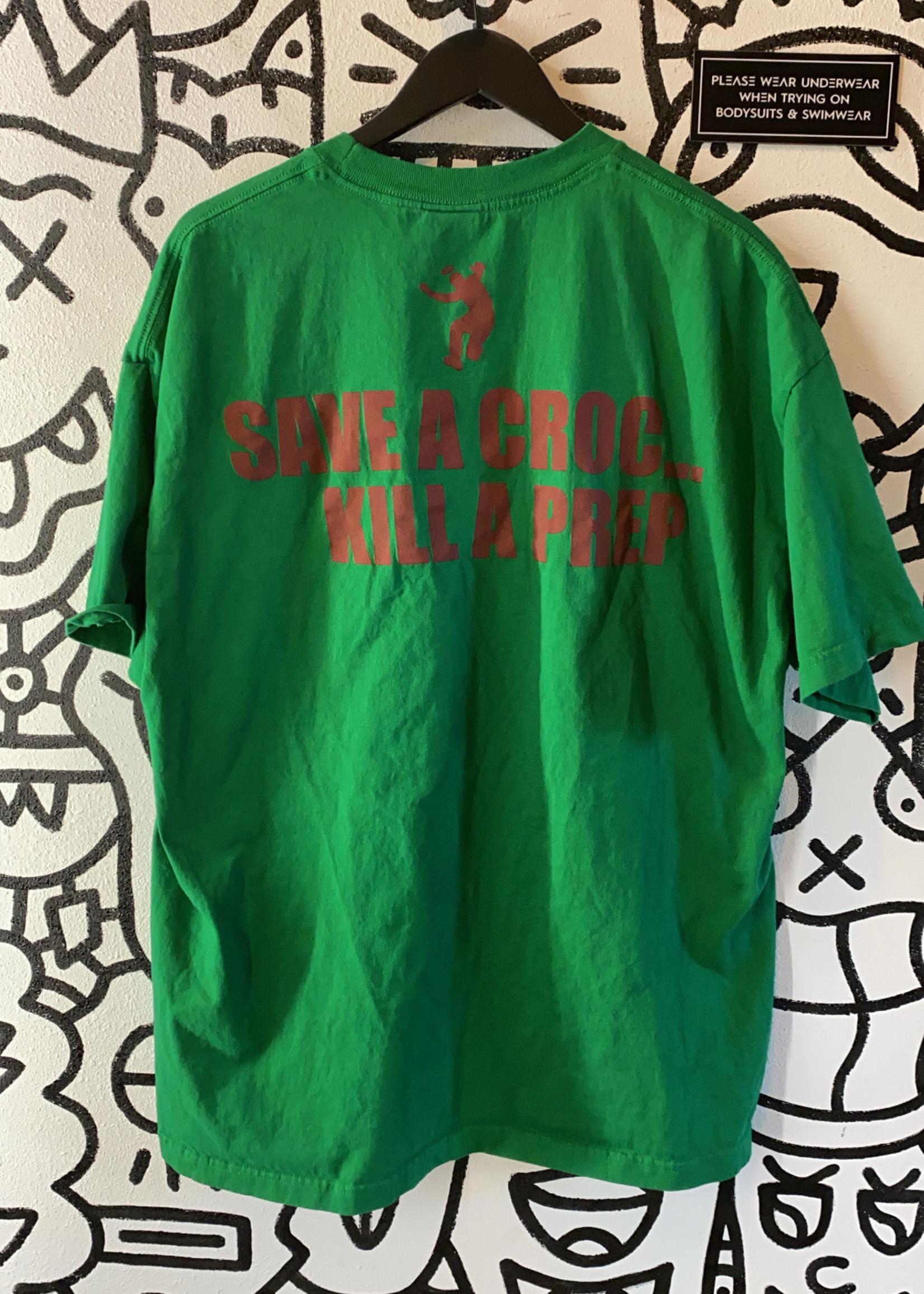 Green Save a croc Shirt