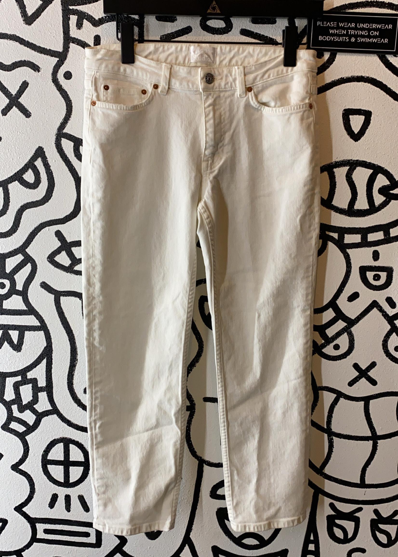ACNE Studios Row White Vintage Jeans 26