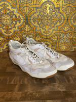 Vans White/Pink  Mesh Shoes 11