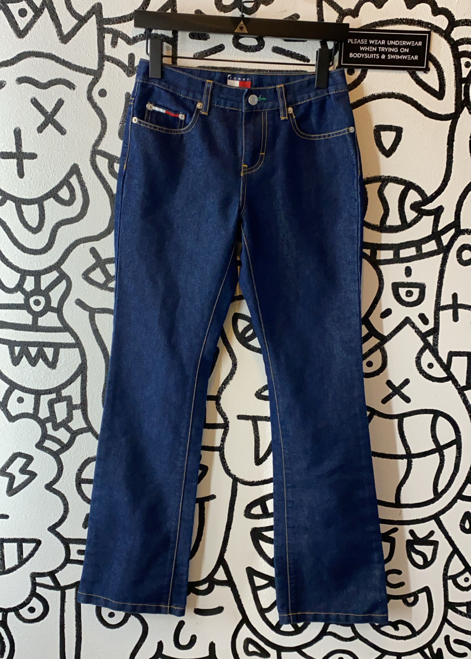 Tommy Jeans Dark Wash Bootcut Jeans 1