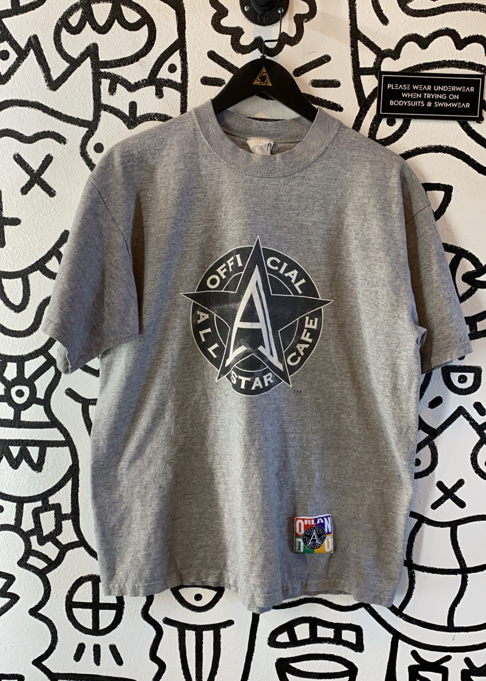 Official All Star Cafe Grey Shirt L