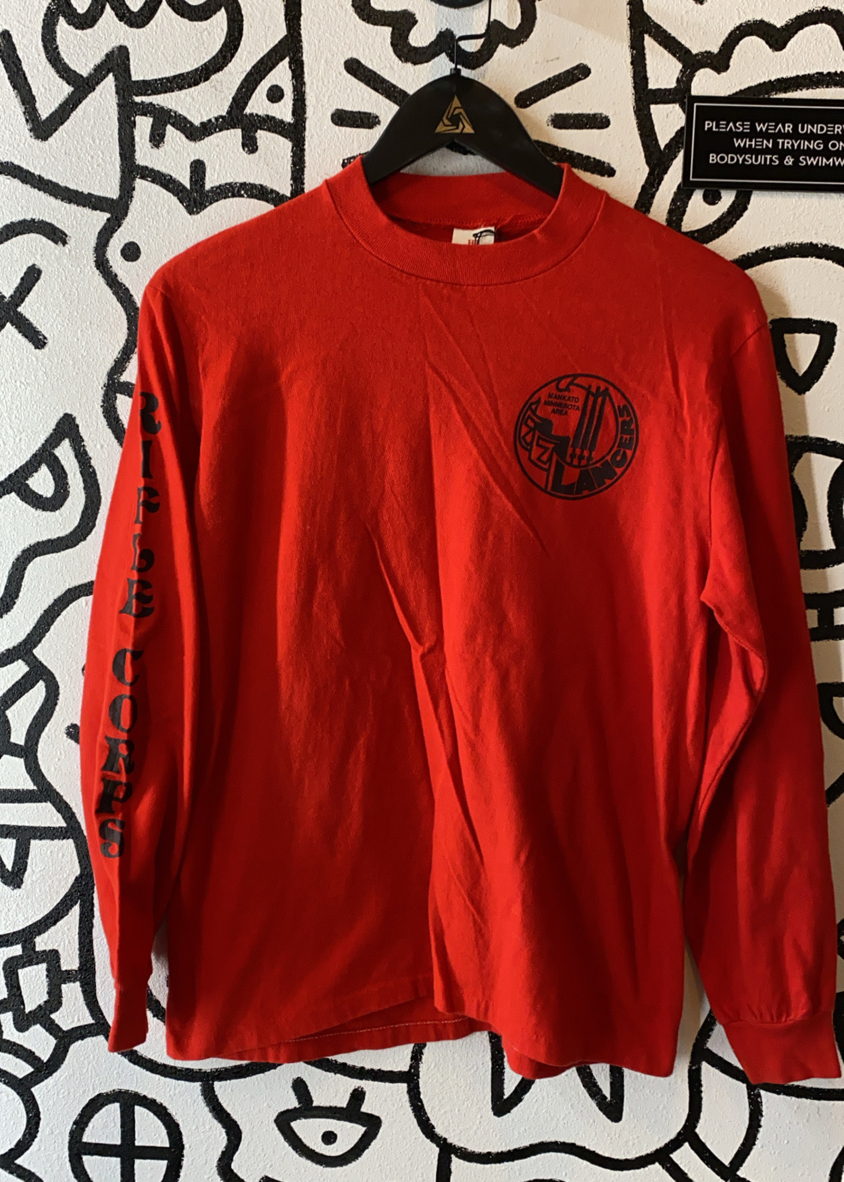 Vintage Deadstock Red 77 Lancer Shirt M
