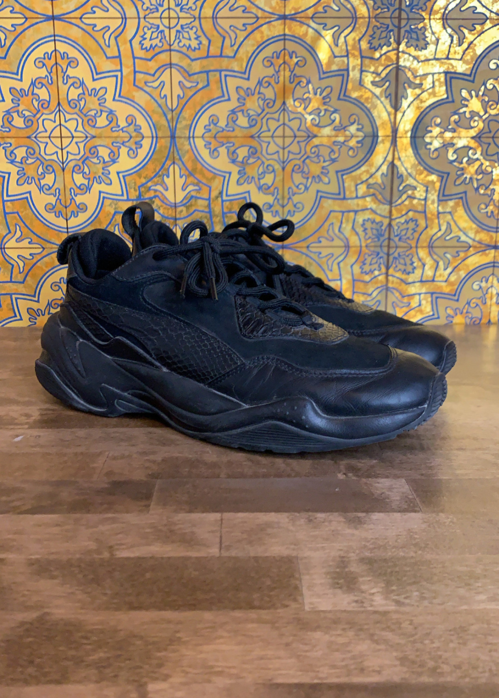 Puma Thunder Spectra Black Sneakers 9.5