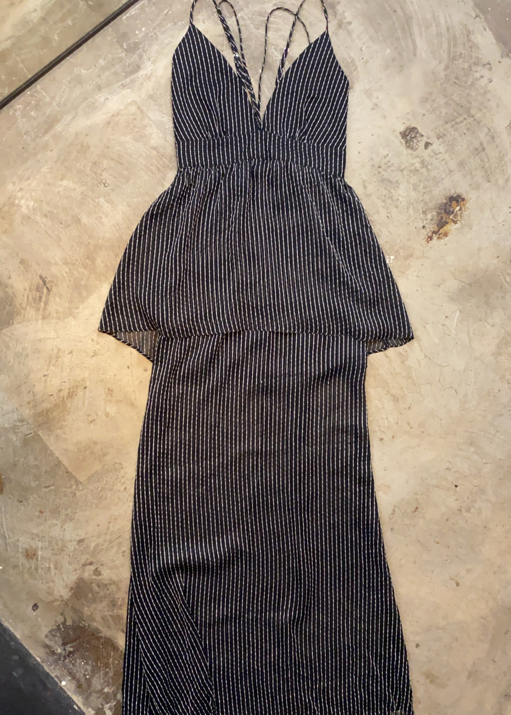 Cold Stone Fox Vintage Black Dress 2