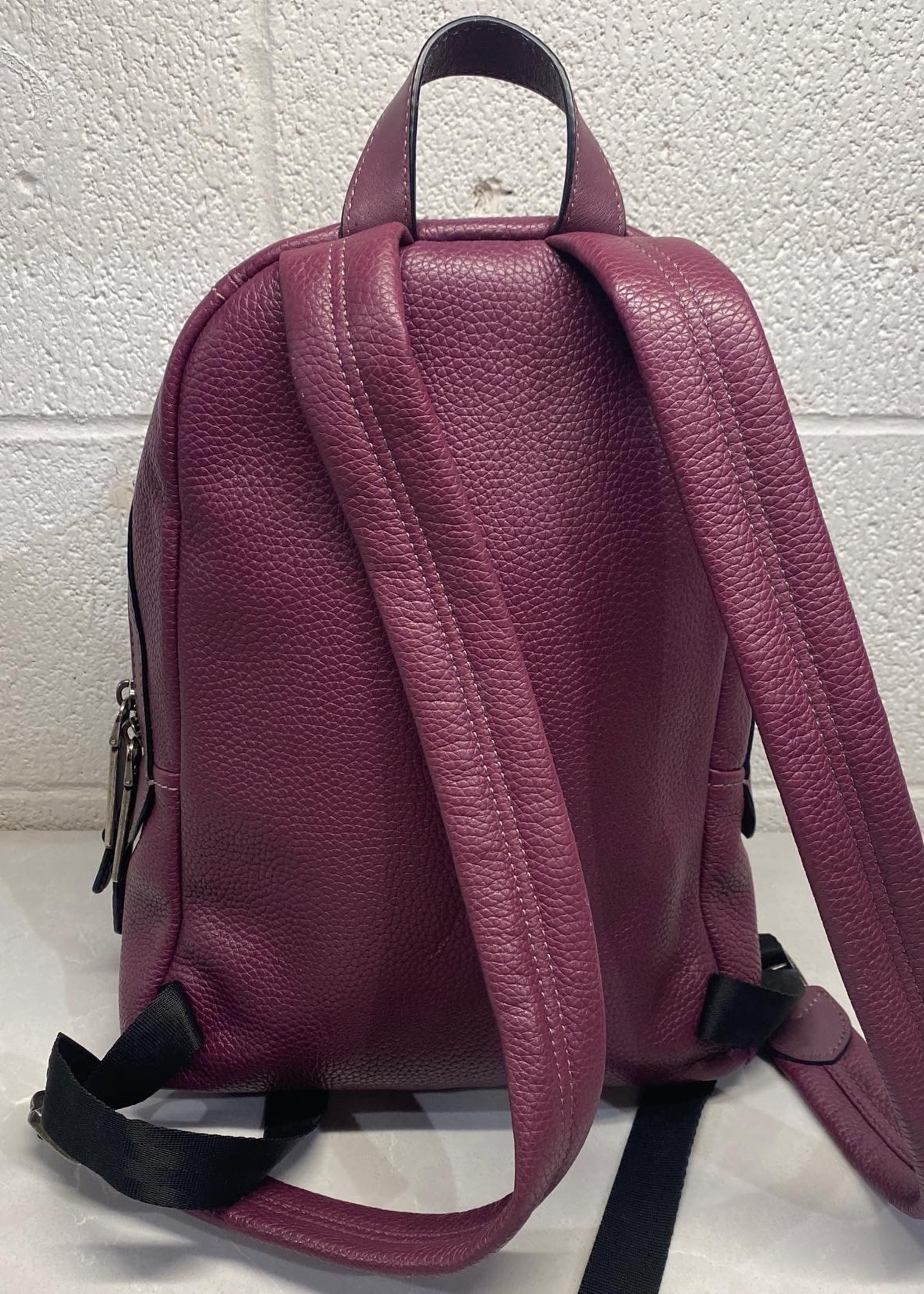 Marc Jacobs Purple Leather Backpack (Original Retail $475)