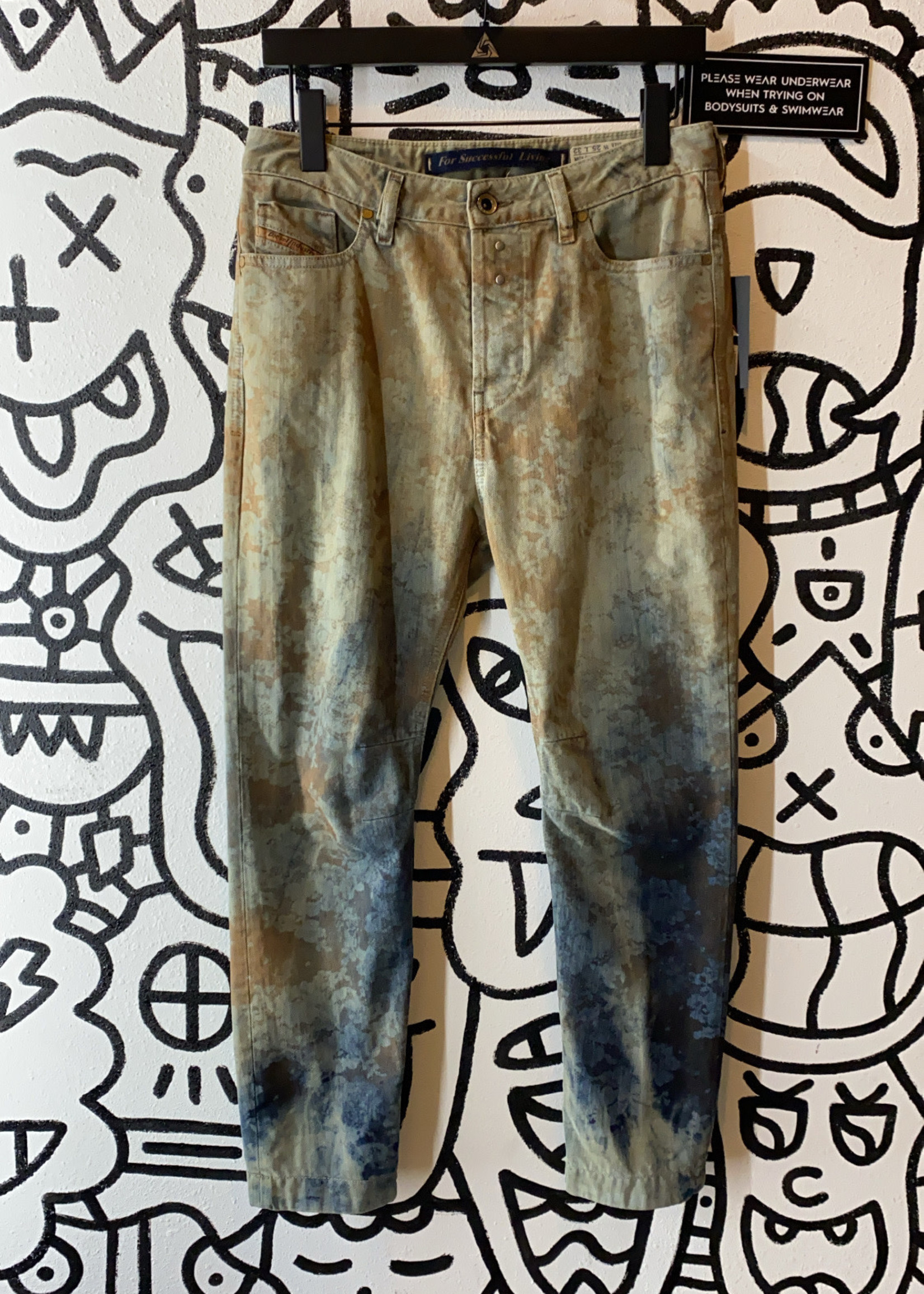 """Diesel 'Eazee' Multicolor Jeans 25"""""""