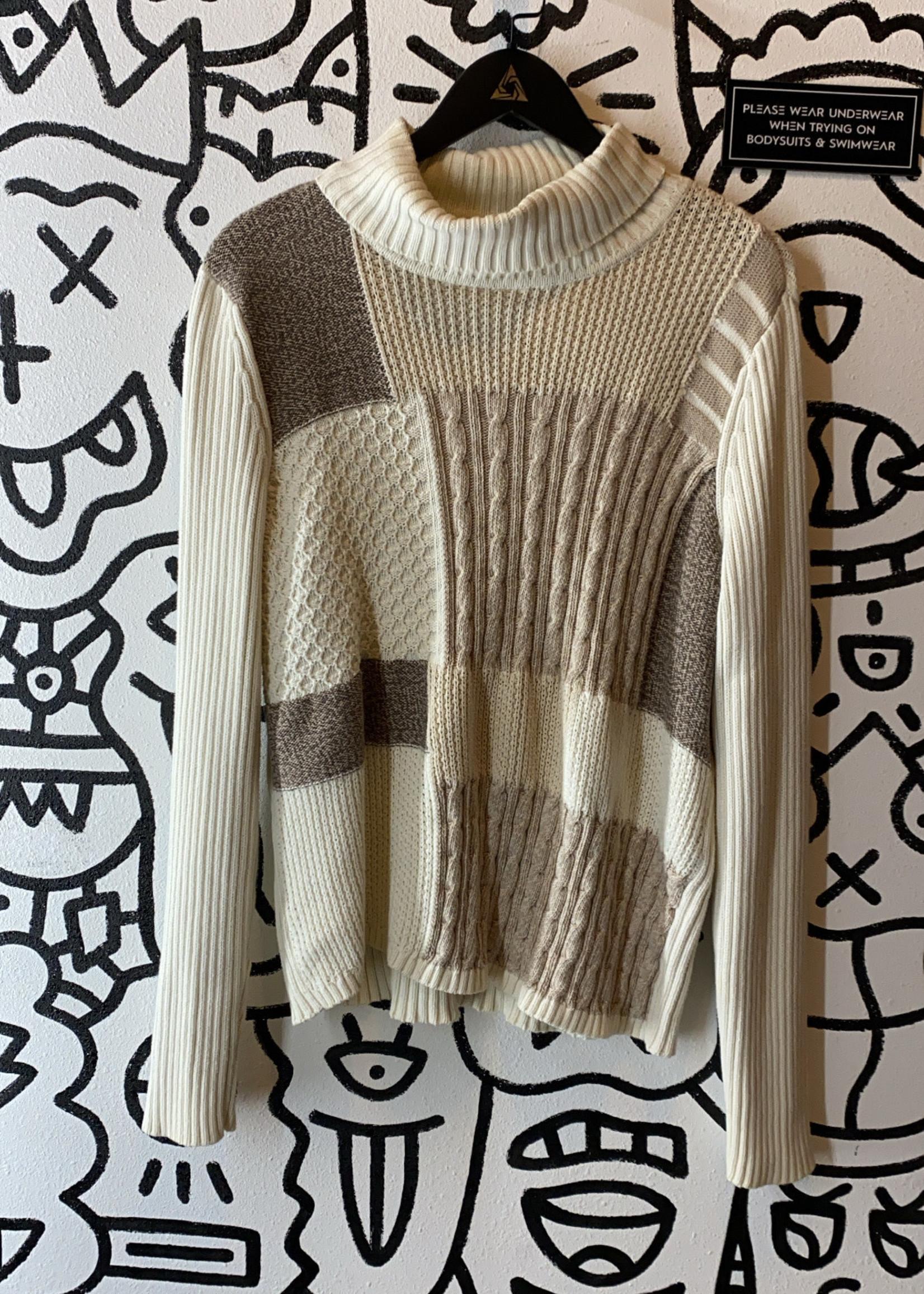 Liz and Co Cream Turtleneck Sweater XXL