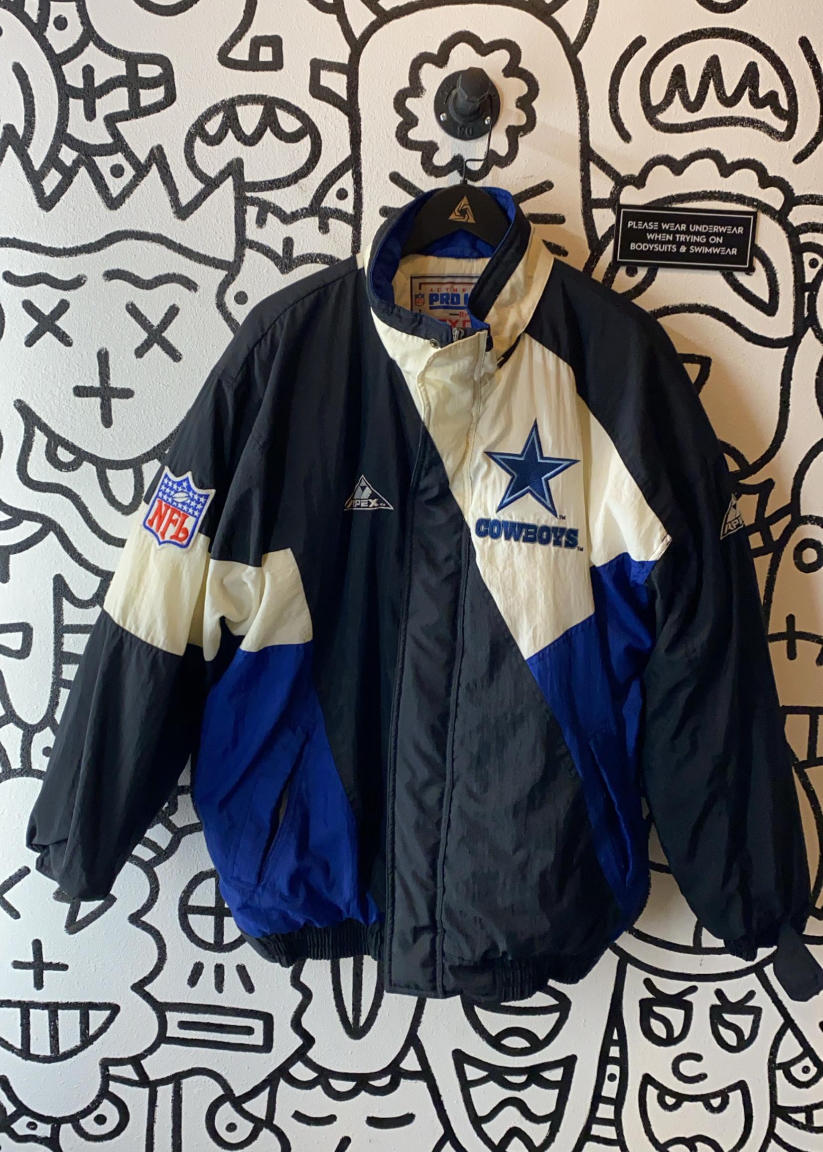 Vintage apex one proline cowboys jacket L