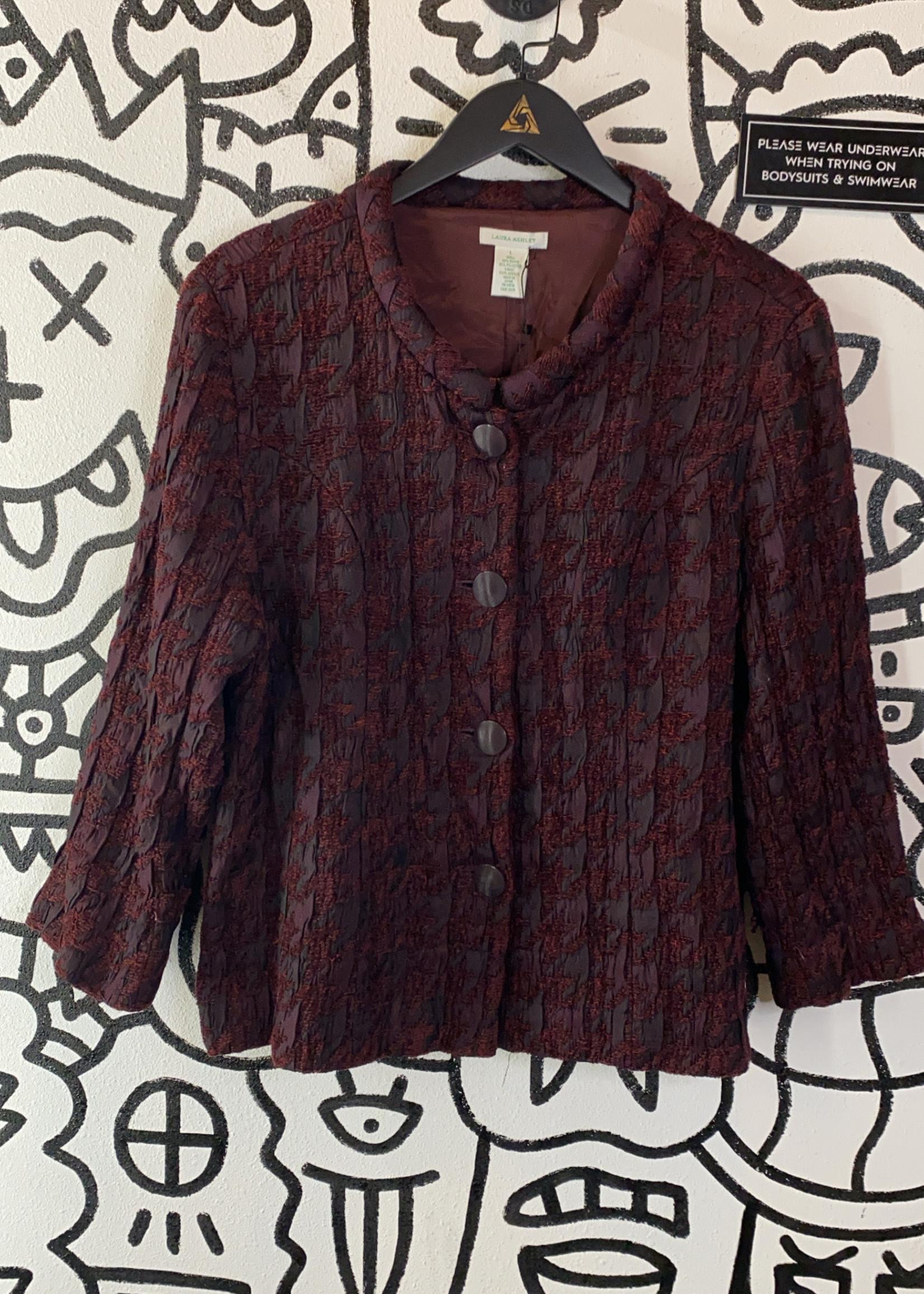 Laura Ashley Maroon Jacket L