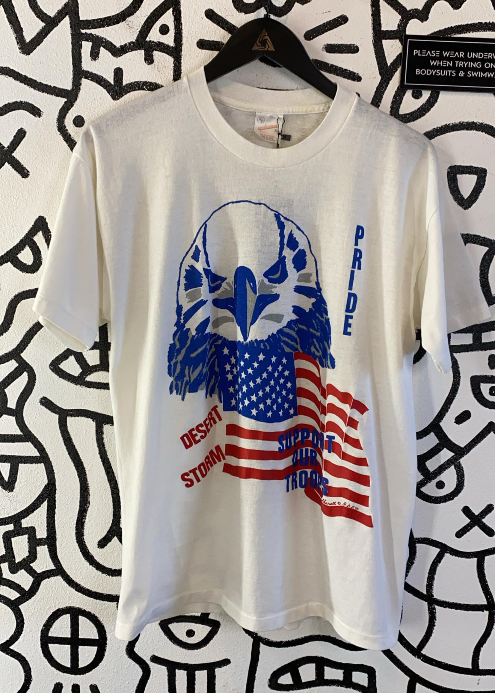 Vintage White Desert Storm Shirt XL