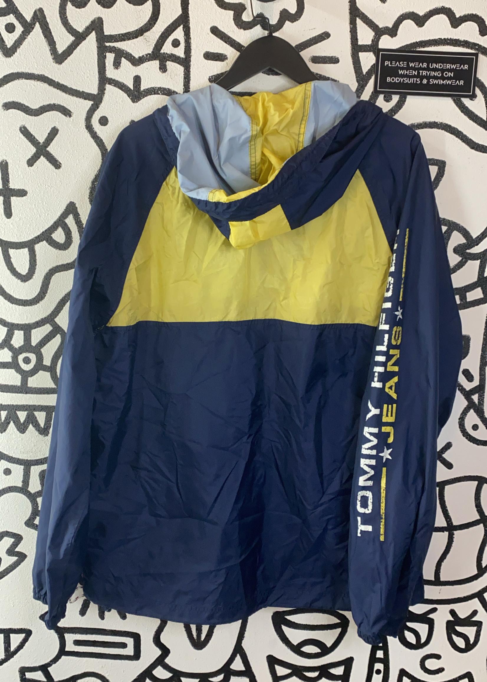 Vintage Tommy Jeans Blue Windbreaker L