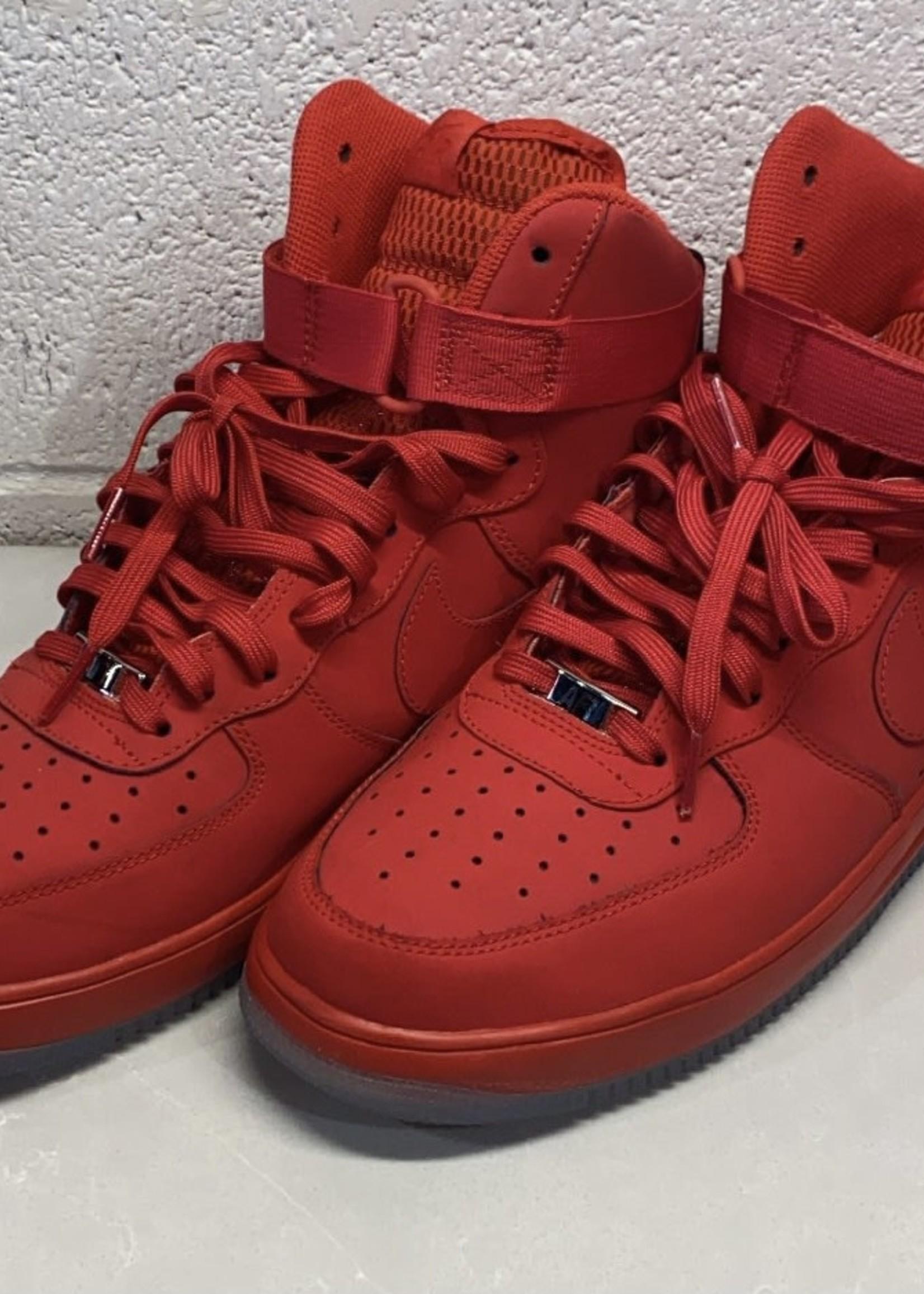 Nike LUNAR FORCE 1 HI '14 'UNIVERSITY RED' 12