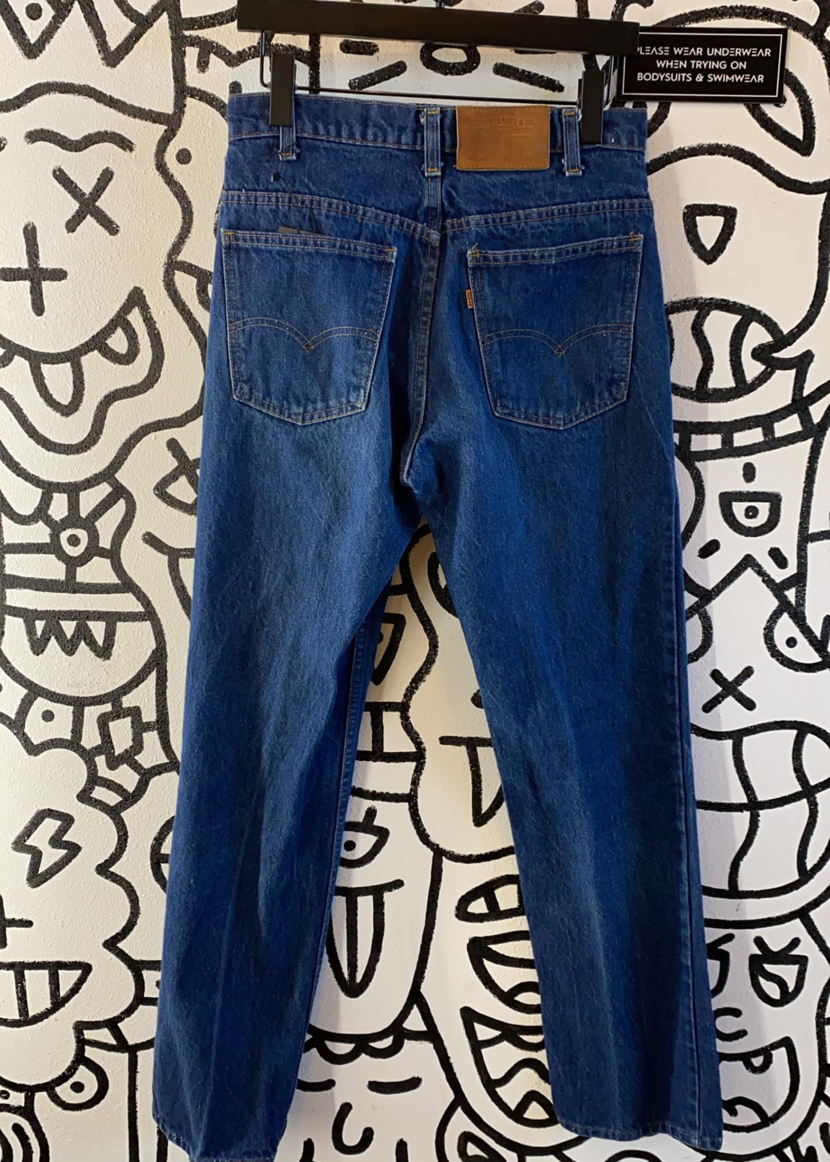"""Vintage Levi's '70s Orange Tab Jeans 31"""""""