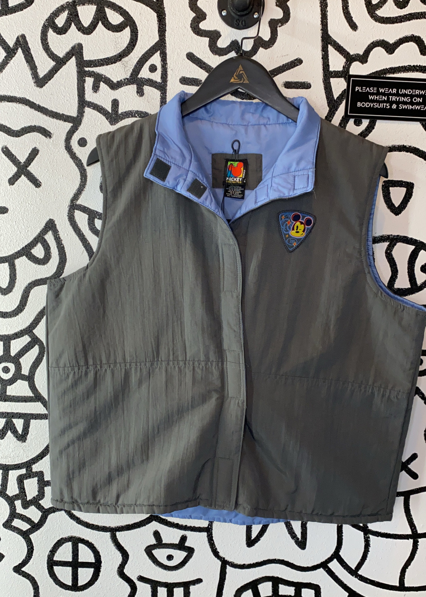 Mickey Unlimited Vintage Zip Vest XL