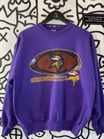 Vintage Hanes Minnesota Vikings Purple Crewneck XL