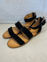 Frye & Co Suede Strappy Sandals 8.5