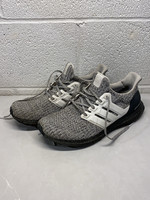 Adidas Grey Ultra Boost with White Stripes (Retail: $180) 9.5