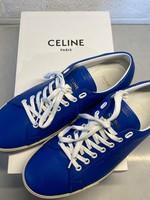 Celine Blue 'Triomphe' Trainers (Retail: $550) 42