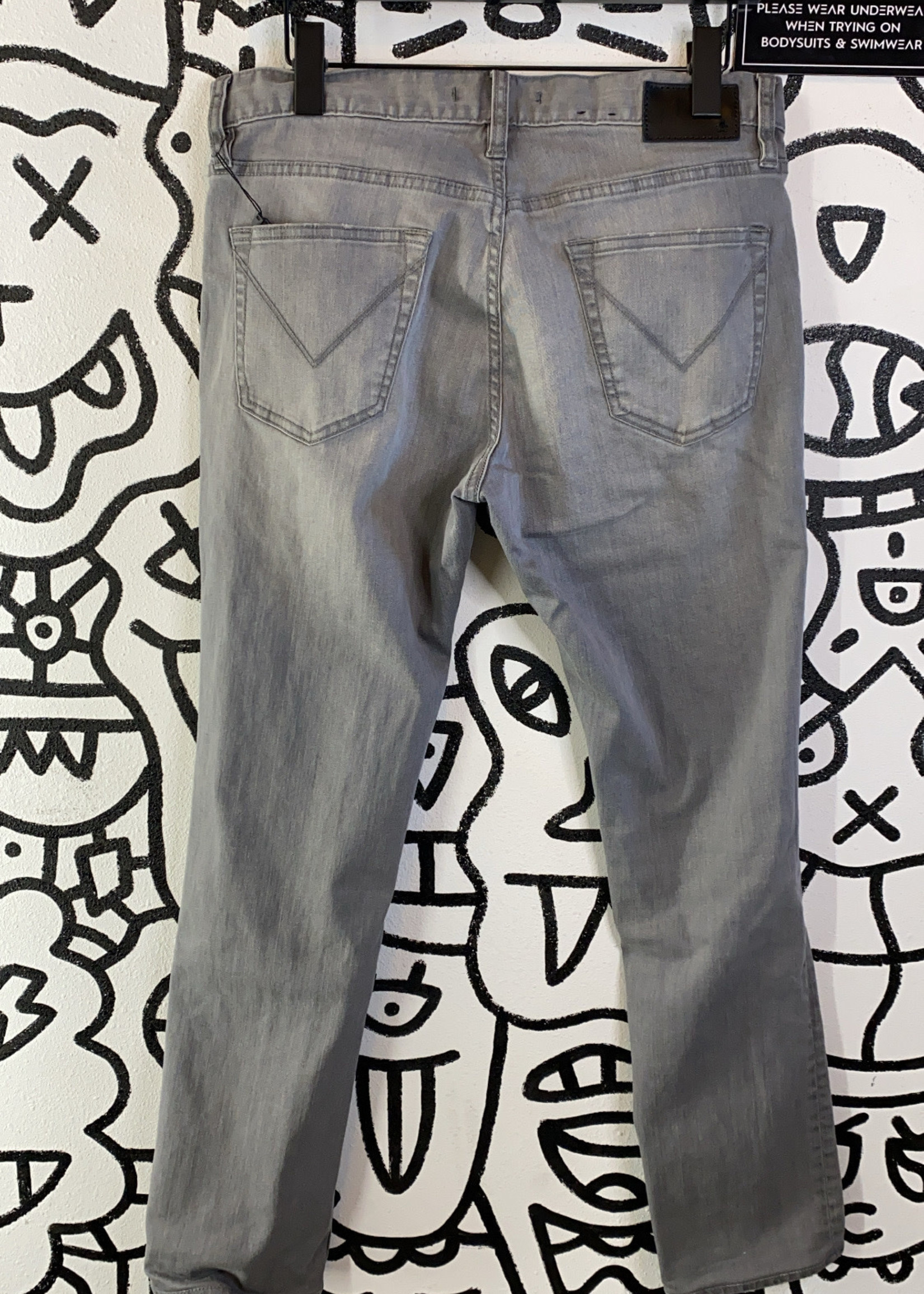 """John Varvatos Grey Distressed Jeans 31"""""""