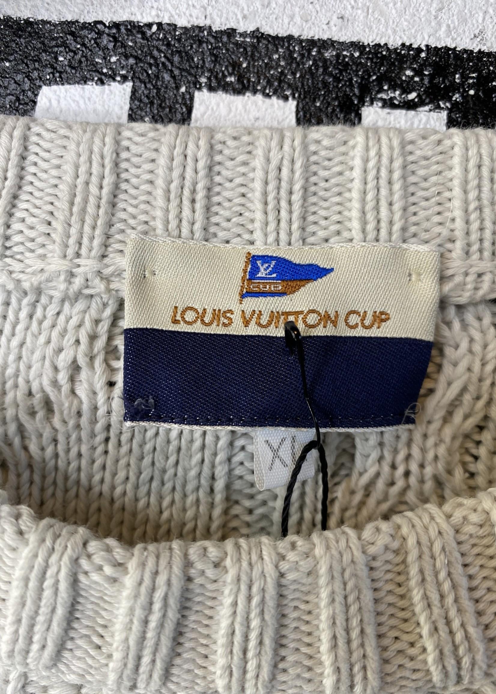 Louis Vuitton Cup Knit Sweater XL