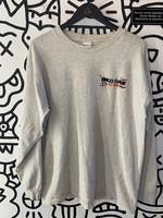 Ringo Starr Grey Long Sleeve Distressed Shirt XL