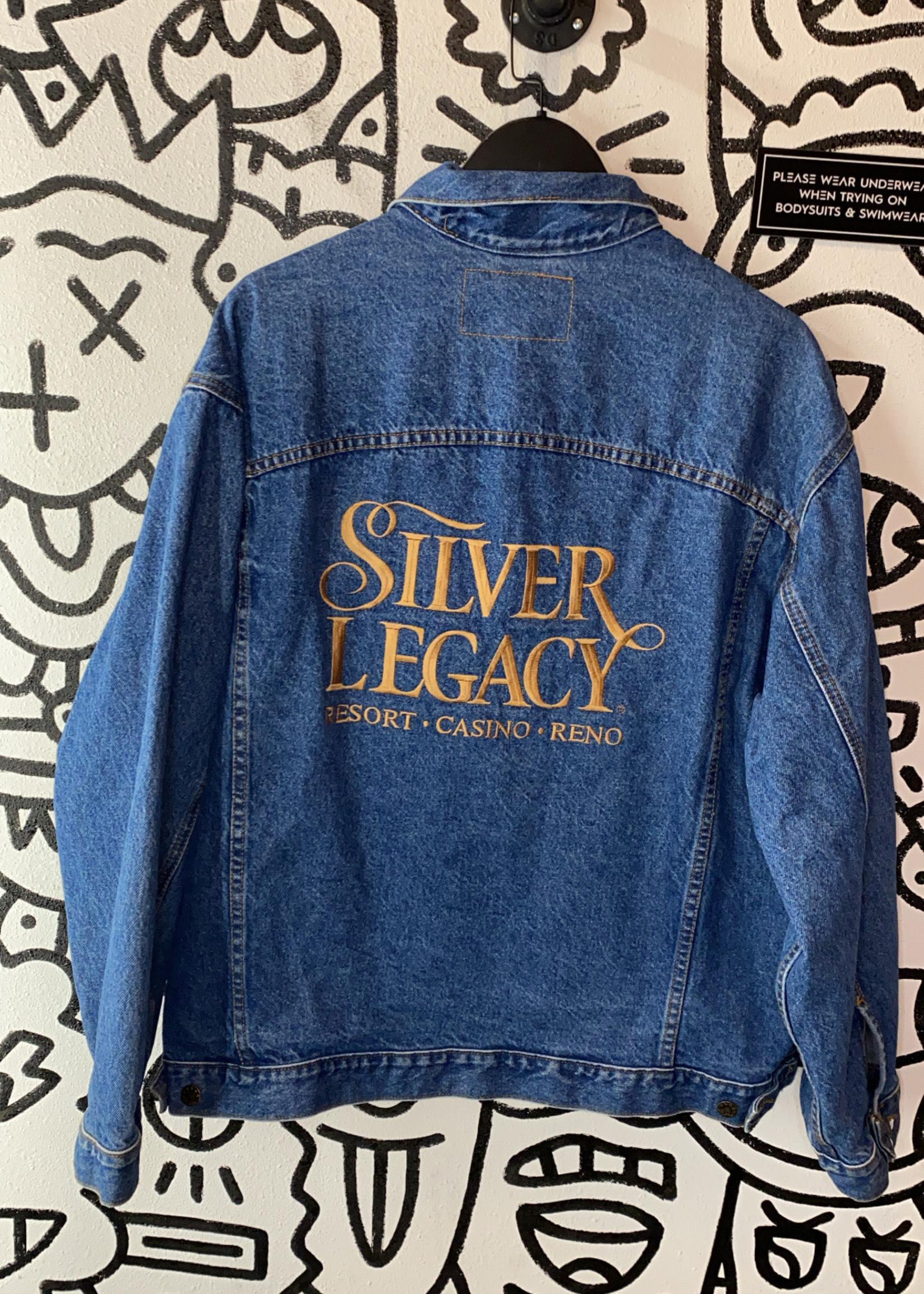Vintage Silver Legacy Denim Jacket L