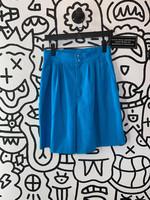 "Fundamental Things Blue High Waisted Shorts 28"""