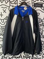 Vintage 2000's Nike Back and White Jacket Blue Logo XL