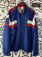Vintage Late 90's Early 00's navy Blue Adidas jacket XL