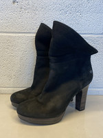 Ugg Black Heeled Booties 7