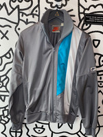 Vintage 80's Nike Grey Track Jacket S