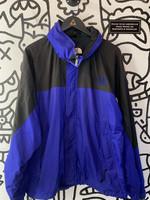 The North Face Blue Black Windbreaker Jacket XL