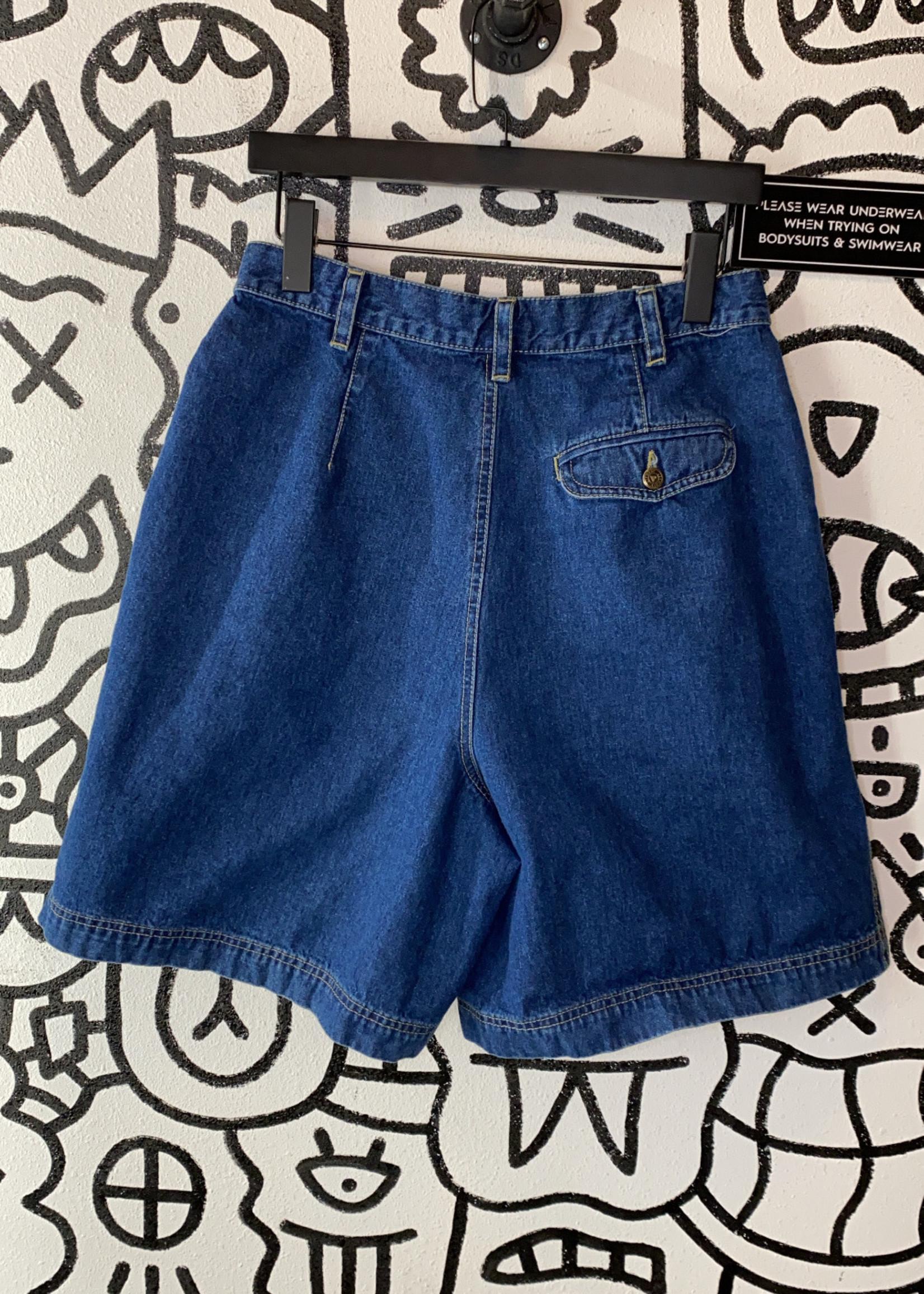 Lizwear Blue Mom Jean Short 12 M