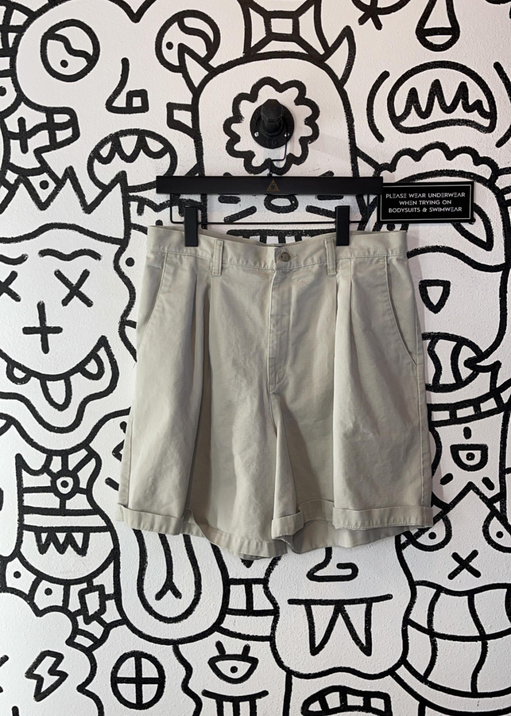 Lee Casuals Tan High Rise Mom Shorts 16