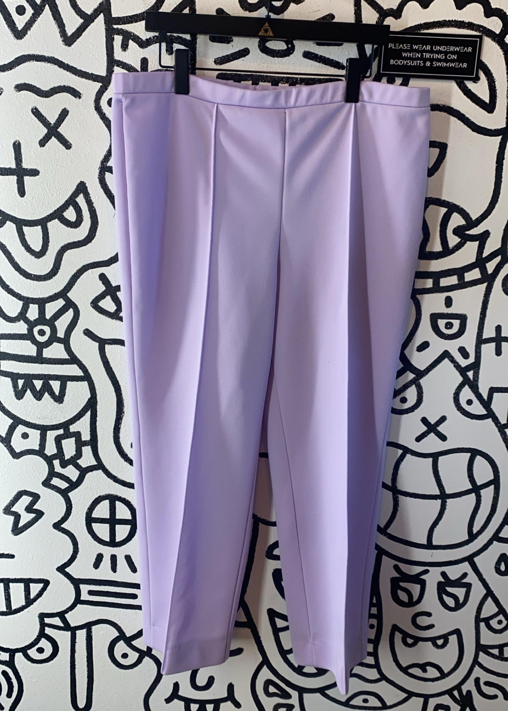 """No Label Lavender Purple Stretch Pants 39"""""""