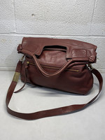 Foley + Corinna Brown Leather Tote Bag