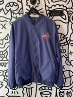 Vintage Mahoneys Casino Reversible Blue Jacket XL