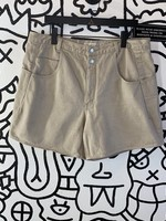 "Vintage Guess Khaki High Waisted Shorts 38"" XL"
