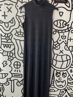 Boston Proper Grey High Neck Dress (Retail: $100) S