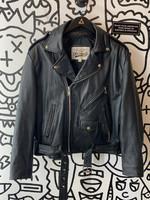 Open Road Leather Biker Jacket 44 XL