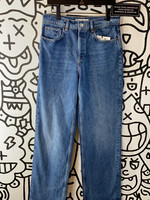 NWT Zara Wide Leg Regular Wash Jeans 30""
