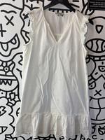 Madewell White Sleeveless Dress M
