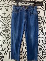 "Vintage Levi's Silver Tab Baggy Dark Wash Jeans 34"""